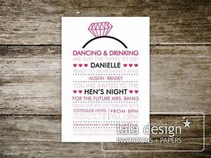 hens night invites wording google search invites With hens night invitation templates