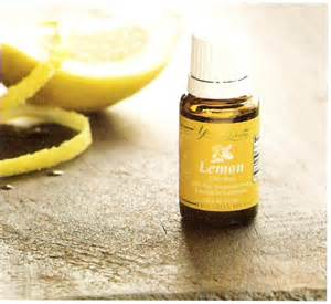 Images of Young Living Lemon Oil