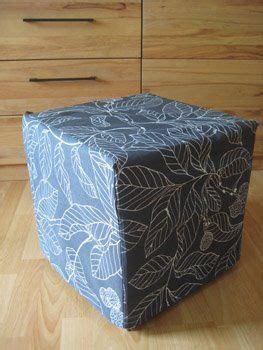 Hocker Bezug Nähen by Ikea Hockerbezug N 228 Hen Sewing A Fabric Covering N 228 Hen