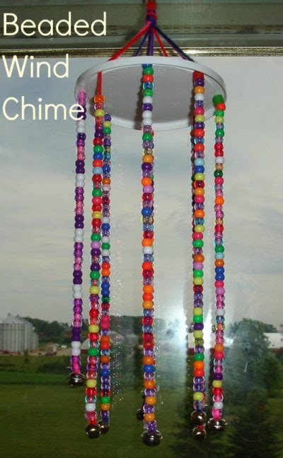 beaded wind chimes fun family crafts