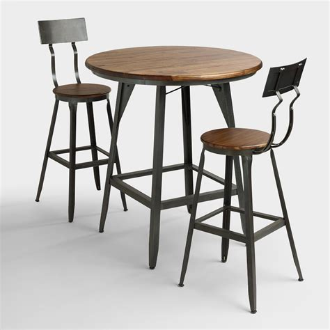 high dining room table with stools hudson pub table collection market