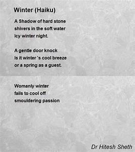 Image Gallery winter haiku