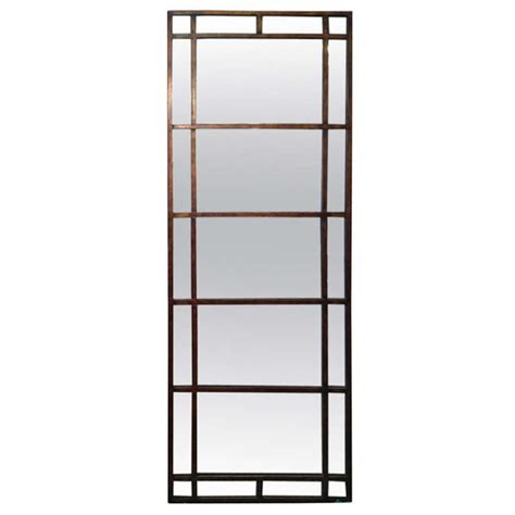floor mirror glass tall mirror with antique glass at 1stdibs