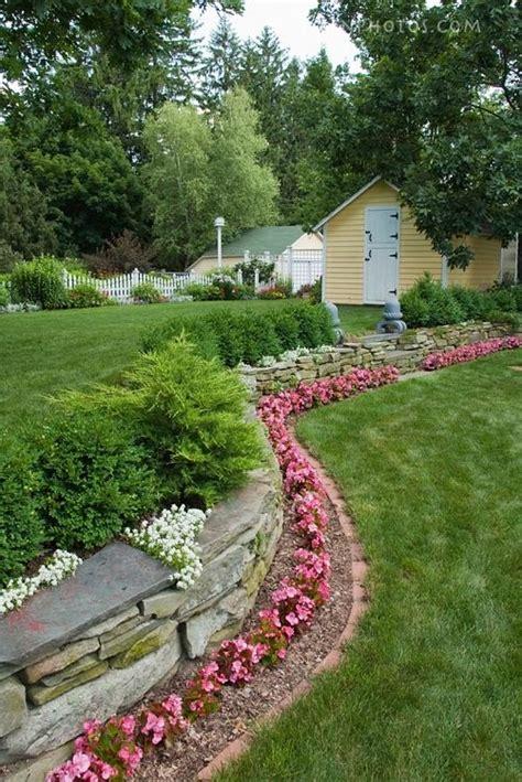 flower bed border idea a garden is not a garden