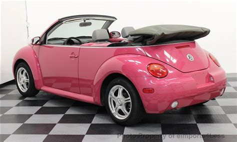best used volkswagen beetle 2004 used volkswagen new beetle gl soft top convertible at