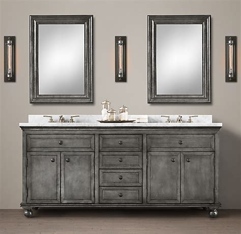 annecy metal wrapped double vanity