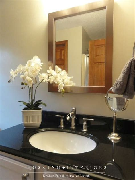 staging a master bath vanity home staging