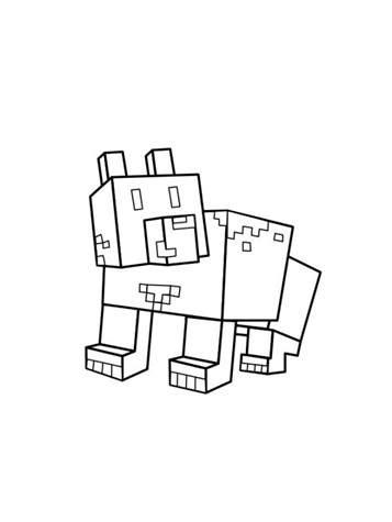 kids  funde  ausmalbilder von minecraft