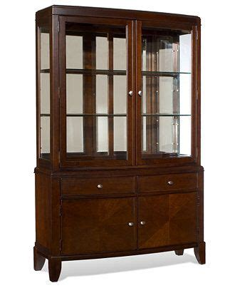 Macys Bradford China Cabinet by Metropolitan China Cabinet Only At Macy S D Cabinets