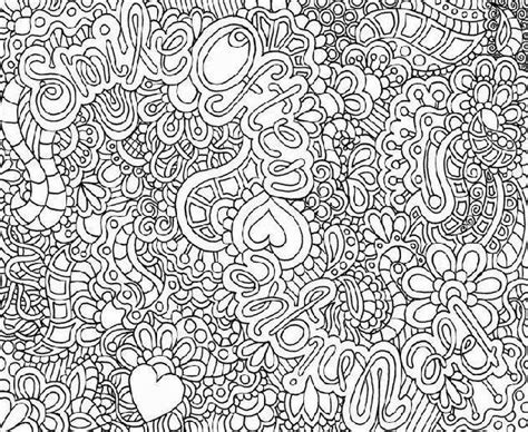 Complex Coloring Sheets For Teens Difficult Pages