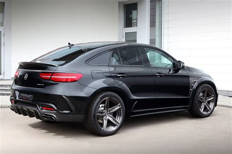 mercedes amg gle topcar equips the mercedes amg gle 63 with an inferno bodykit