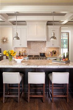 kitchen backsplash tile photos these tufted bar chairs are a simple way to add pops of 5071