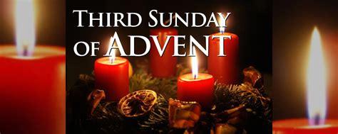 sunday  advent gaudete sunday diocese  st