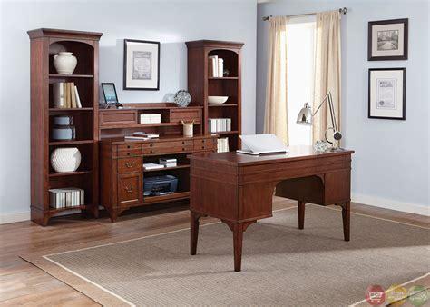 Keystone Traditional Executive Home Office Furniture Desk Set