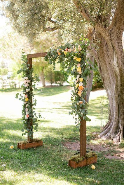 rustic wedding altar wedding ideas in 2019 wedding