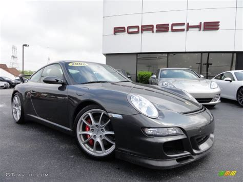porsche gt3 gray 2008 atlas grey metallic porsche 911 gt3 65611783