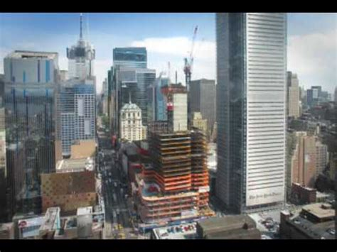 Eleven Times Square — Time Lapse Construction - YouTube
