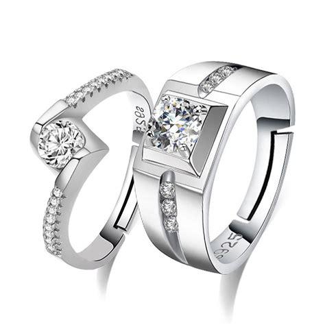 cincin adjustable s925 silver ring s fashioon rings cra5 shopee malaysia