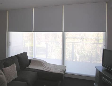 double roller blinds holland blinds  dual roller