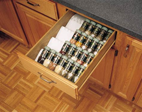 kitchen cabinets with drawers only kitchen cabinet drawer spice bottle storage insert if