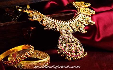 antique wedding jewellery collections south india jewels