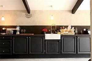 comment decorer sa cuisine dco cuisine comment lui donner With repeindre sa cuisine en noir