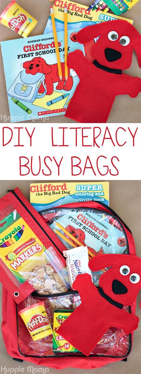 diy literacy busy bags carrie rose