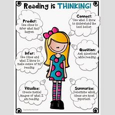 Reading Is Thinking! Free Download!  Teacher Karma