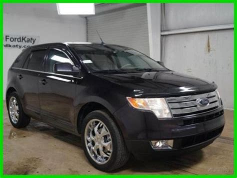 purchase   ford edge sel  panoramic vista