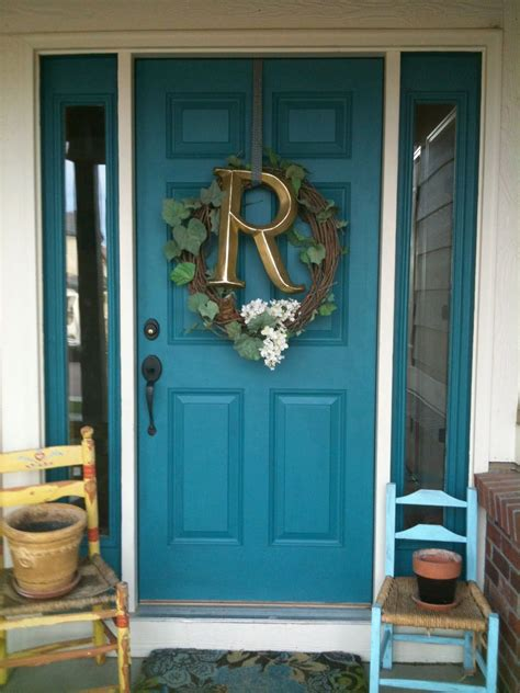 love  color hate  big letter    paint  front door   funky arty