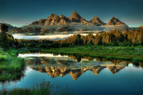 nature landscape mountains wyoming wallpapers hd desktop  mobile backgrounds