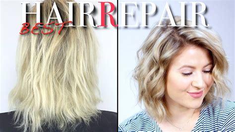 repair dry damaged hair milabu youtube