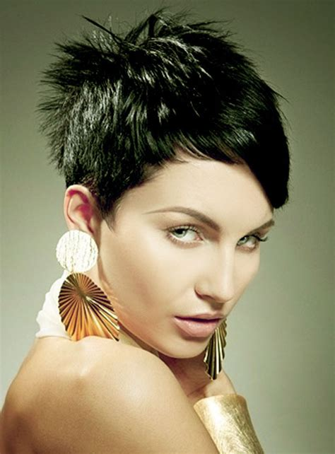 magnificent short haircuts  thick hair womens fave