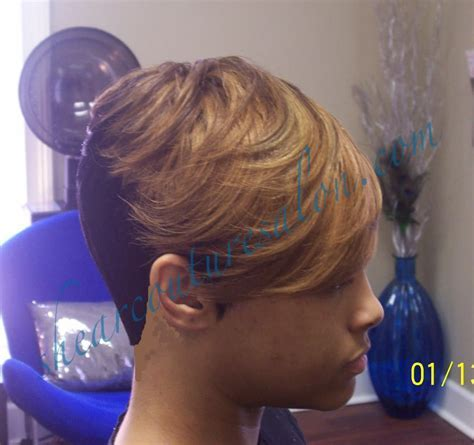 Short Peices Quick Weave Pictures Hairstyle Long