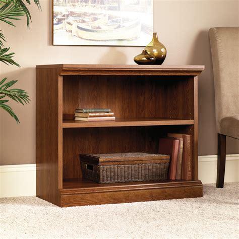 two shelf bookcase camden county 2 shelf bookcase 101782 sauder