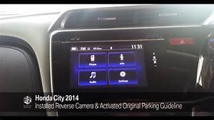 Hanns - Honda City 2014 Reverse Camera