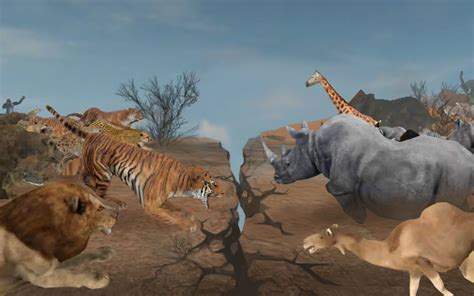 wild survival action game  animals wild animals
