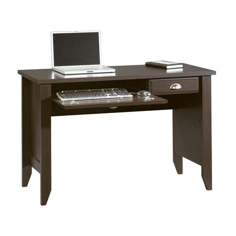 sauder computer desks on sale shop sauder shoal creek jamocha wood computer desk at