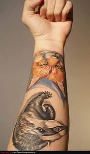 Fox Tattoo | fox and hound tattoos | Pinterest