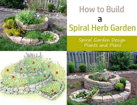 Gardens How To Build by How To Build A Spiral Herb Garden Spiral Garden Design