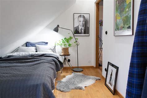 modern attic apartment   scandinavian style