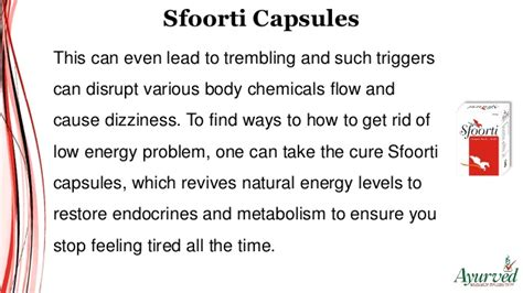 rid   energy problem  stop feeling tired