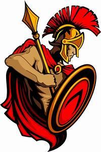 Spartan Trojan Vector clip arts, free clipart