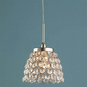 Crystal jewel pendant lighting by shades of light
