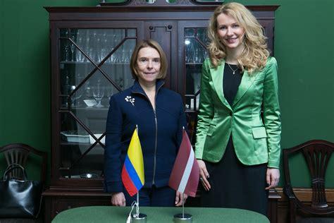 Inese Lībiņa-Egnere tiekas ar Kolumbijas ārlietu viceminis…   Flickr