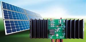 Build An Inexpensive 12 Volt  12 Amp Modern Digital Solar