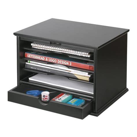 top of desk storage victor 4 shelf desktop organizer black 4720 5 the home