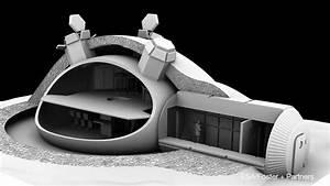 Lunar Base Using 3D Printing - YouTube