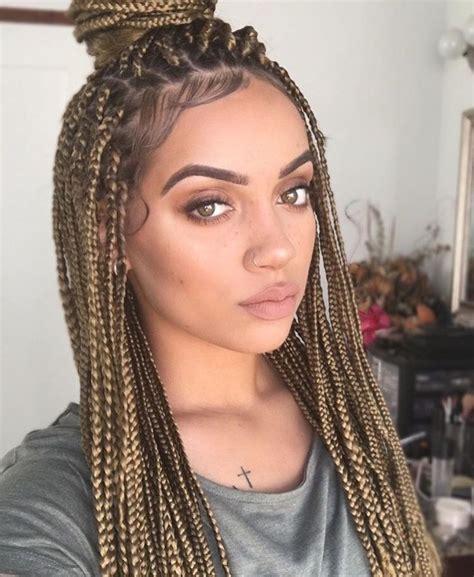 braids styles black hair trenzas africanas box braids lirish salon de todo 2794