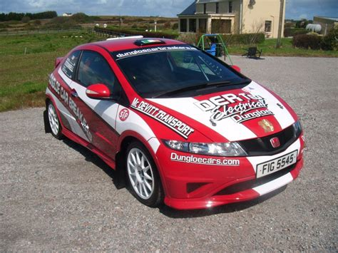 2011 Rally Honda Civic Type R Fn2